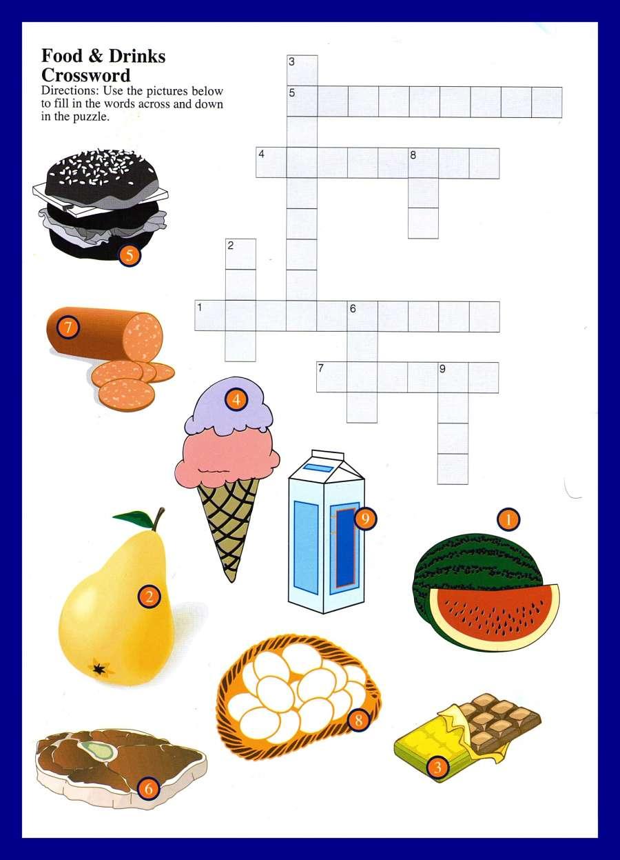 crossword BigBen School food